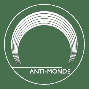 Logo Antimonde Blanc PNG