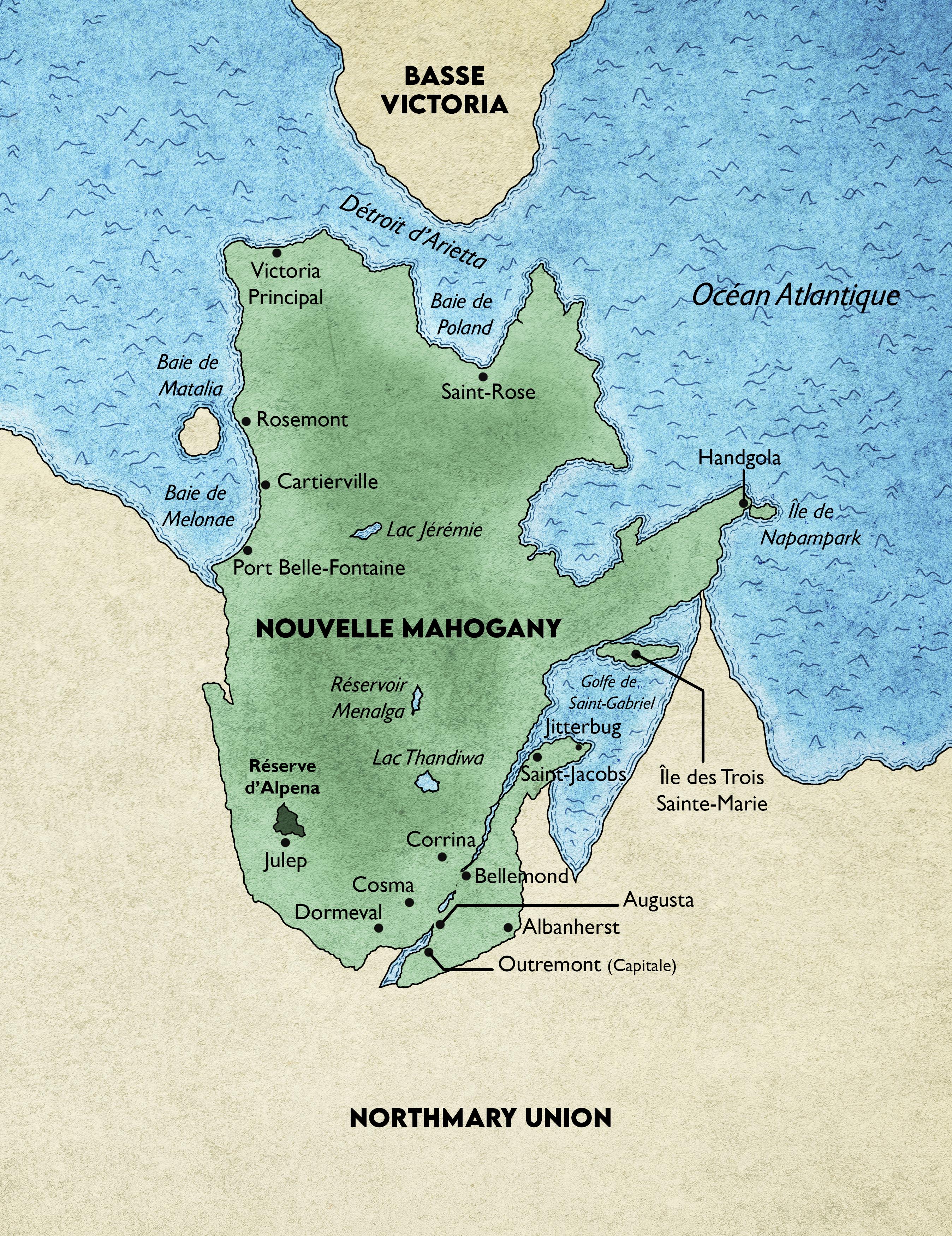 Carte nouvelle Mahogany