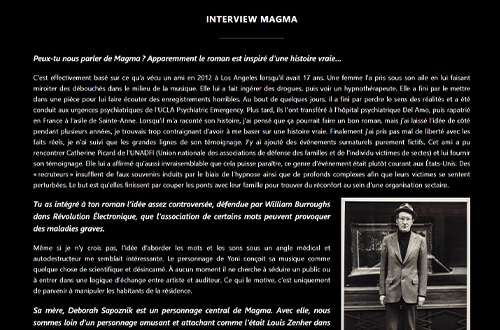 Interview Magma